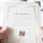 重要な結婚式の招待状。本状と封筒の書き方教えます!